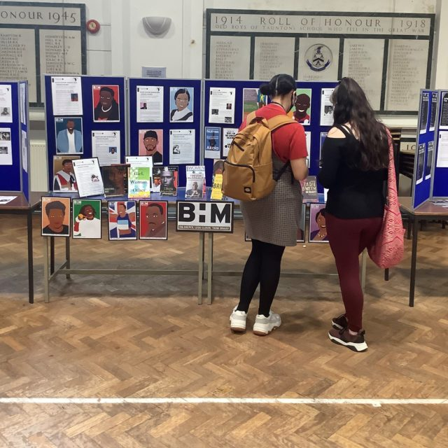 RTSFC Students attend the BHM exhibition 2020